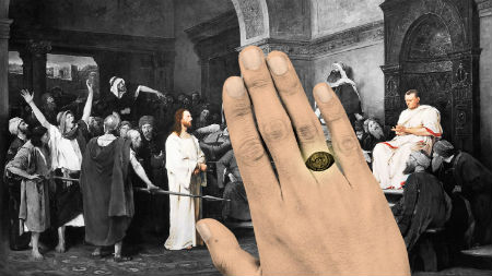 Atrasts Jēzus slepkavas gredzens