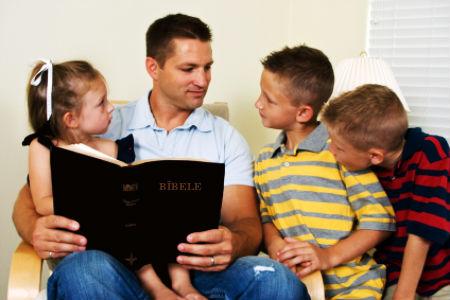 Bērniem jāmāca Dieva vārds