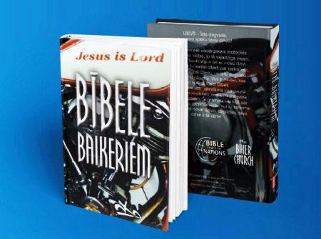 Bībele baikeriem tagad arī latviešu valodā