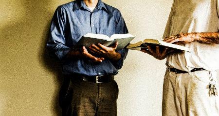 cītīgi jāpēta Svētie Raksti