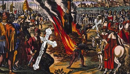 Evaņģēlijs tiek nicināts, mīdīts kājām un vajāts