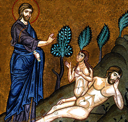 Ieva esot radīta no Ādama dzimumlocekļa kaula
