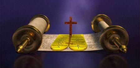 iezīmes, kuras ir raksturīgas gan bauslībai, gan Evaņģēlijam
