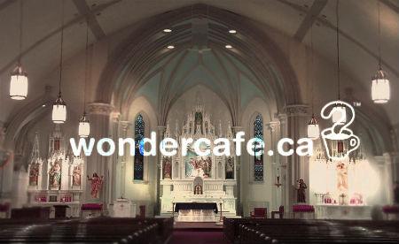 izaicinošas reklāmas aicina uz baznīcu