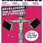 Jēzus pie krusta Charlie Hebdo