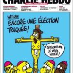 Jēzus pie krusta un kardināli Charlie Hebdo