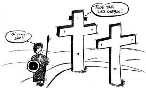 Jēzus pie krusta
