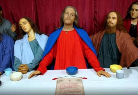 vaska figūra izstāde Rēzeknē - Jēzus