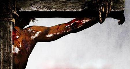 Jēzus ziedo Savas asinis par pasauli