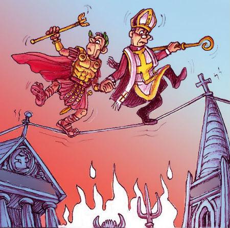Kad kristīgā baznīca pazaudē savu uzdevumu