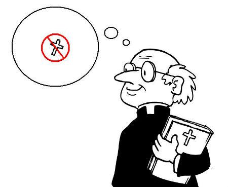 kad visādi salašņas sāk mācīt to, kas vajadzīgs Dieva baznīcai