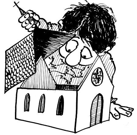 katoļu baznīcā mākslīgi paaugstināts baznīcenu skaits
