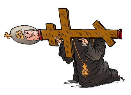 Krievijas pareizticīgā baznīca apdraud nacionālo drošību