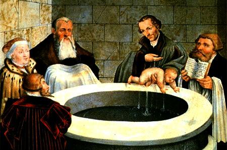 Kristība nav bauslības derība