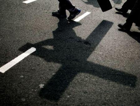 kristieša krusta dzīve nāk pirms godības dzīves