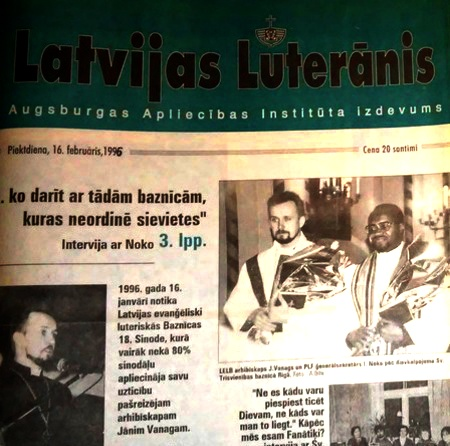 Latvijas Luterānim 20 gadi