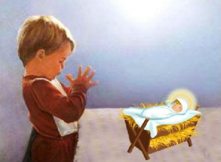 lūgšana Kristus piedzimšanas svētkos