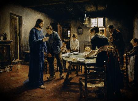lūgšana pēc maltītes