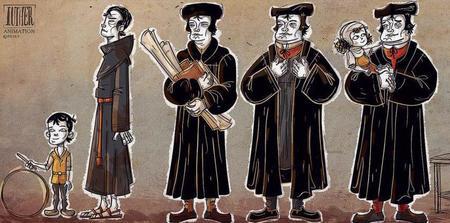 Lutera dzīve animācijas filmā