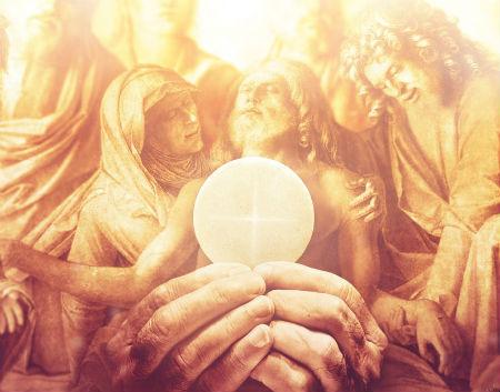 Lutera izprante par sakramentālo un garīgo Kristus miesu