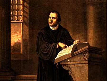 Luters par bauslību un evaņģēliju