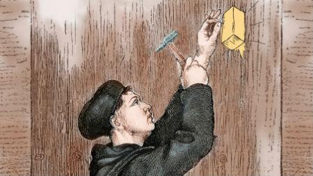 Luters savas 95 tēzes neesot pienaglojis