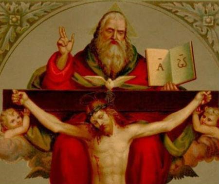 mācības par Trīsvienību un Kristu ir cieši saistītas
