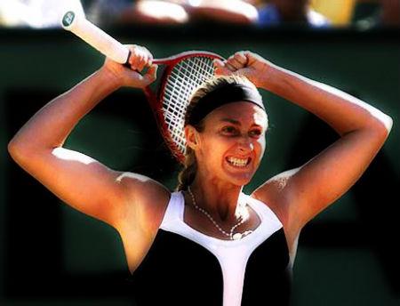 Marija Pīrsa tenisa zvaigzne