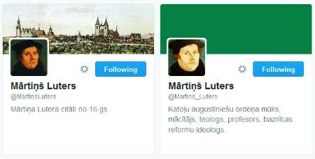 Mārtiņš Luters čivina latviski