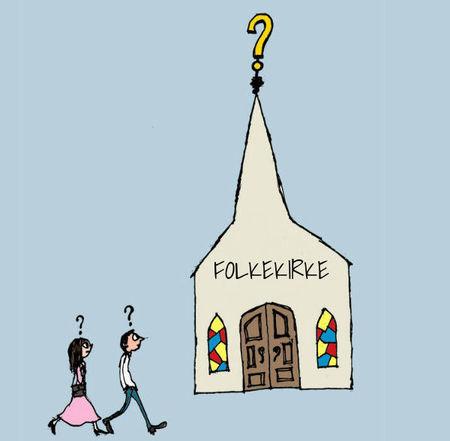 nekristieši pārņem norvēģu baznīcu