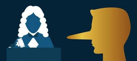 nepatiesa liecināšana tiesā