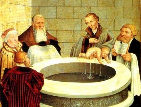 Norādījumi par bērnu Kristību