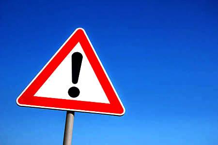 Par brīdinājuma zīmi visai pasaulei
