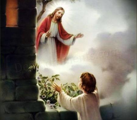 Par lūgšanu Jēzum