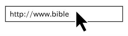 pieejamas domēna .bible adreses
