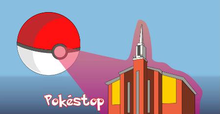 Pokemons ieperinājies dievnamā