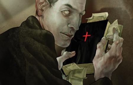 priesteris zog naudu, lai apmierinātu perversās tieksmes