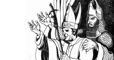 Sātanistu žesti pāvesta izpildījumā