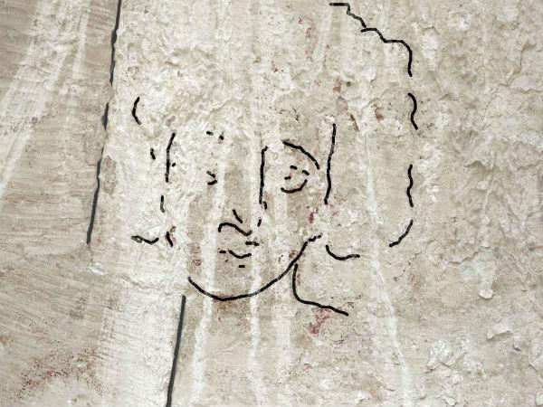 Senākais Jēzus Kristus sejas attēlojums, kas atrasts Izraēlā