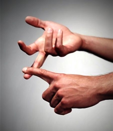 skaitīt trīs atbildes uz pirkstiem