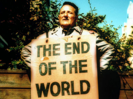 sludinātājs brīdina par drīzu pasaules galu