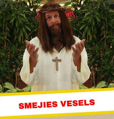 smejies vesela par Jēzu