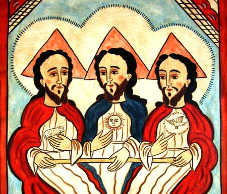 Svētās Trīsvienības personas