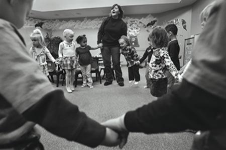 Dieva bērni svin svētkus