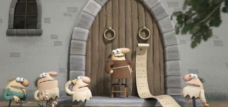 Unikāla animācijas filma pat Lutera dzīvi