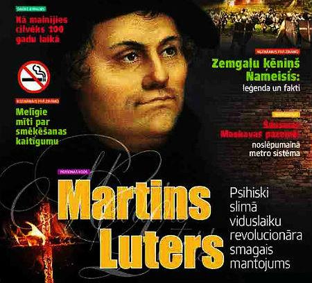 Žurnāls pasludina Luteru par vājprātīgu