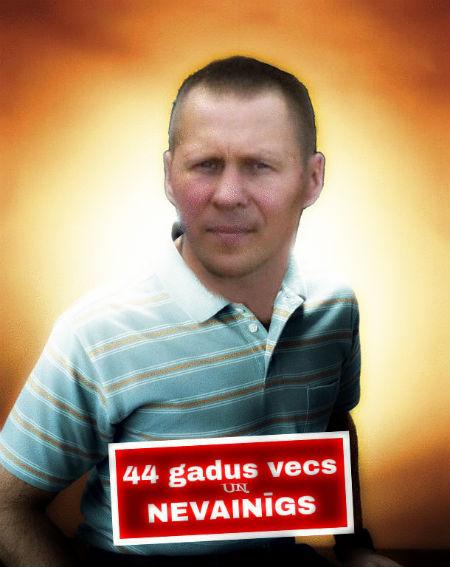 44 gadus vecs un nevainīgs