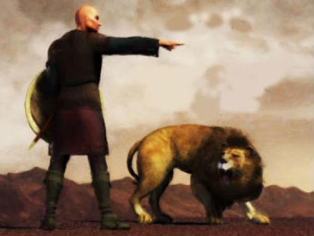 Agrīnā baznīca un velna neveiksmīgā cīņa