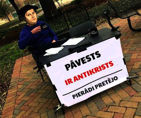 Antikrists pēc amata
