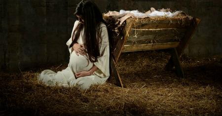 Ar Jēzus piedzimšanu saistītie notikumi jaunavas Marijas skatījumā